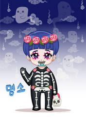 Tiny Idols (Halloween): MyungSo by JudithzzYukoGD