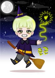 Tiny Idols (Halloween): JoonKwan by JudithzzYukoGD
