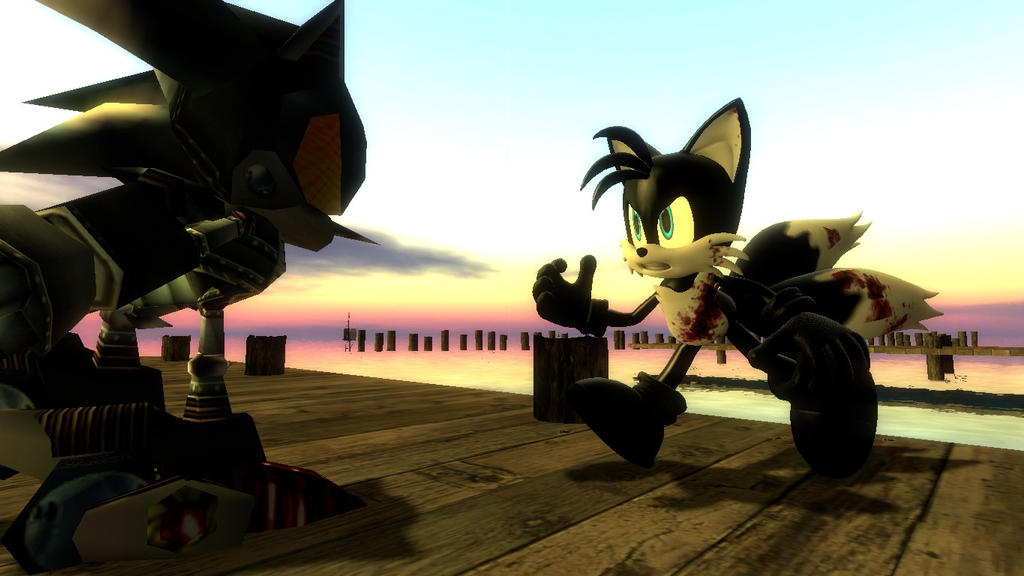 Ultimate Showdown: Dark Tails VS Silver Sonic by DarkTails ...