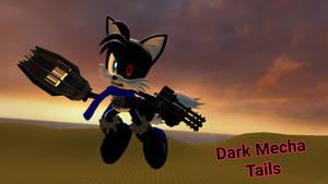 Dark Mecha Tails (Wallpaper 2)