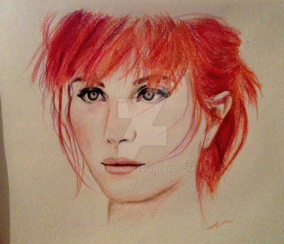 Paramore - Hayley Williams 2 by deadmizi