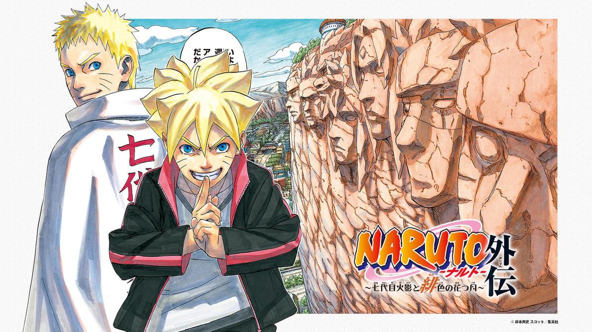 Naruto And Boruto Wallpaper By Aloli