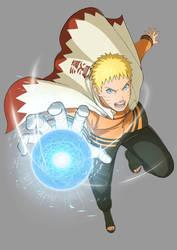 Naruto Storm 4 Road to Boruto : naruto 7th hokage by aloli