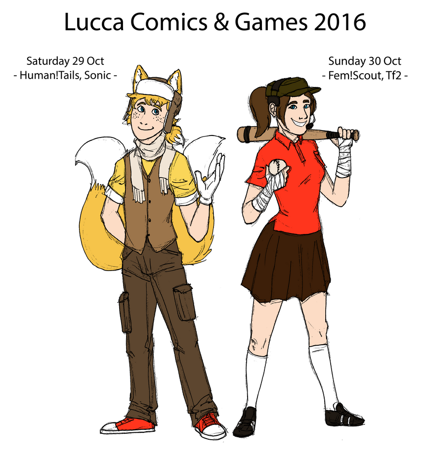 Lucca Comics and Games 2016 Cosplays by Linda065cliva