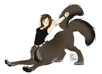 Stretchy Sabrina - Commission