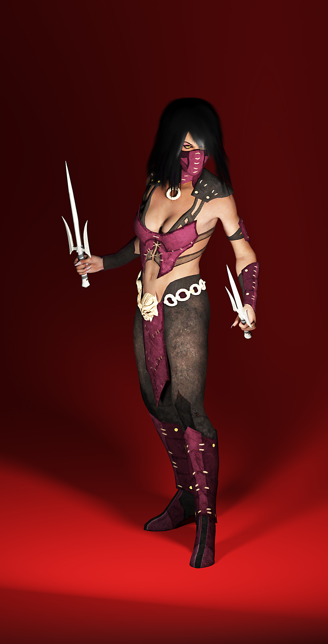MKX Kahnum Mileena   Fictional characters, Deviantart