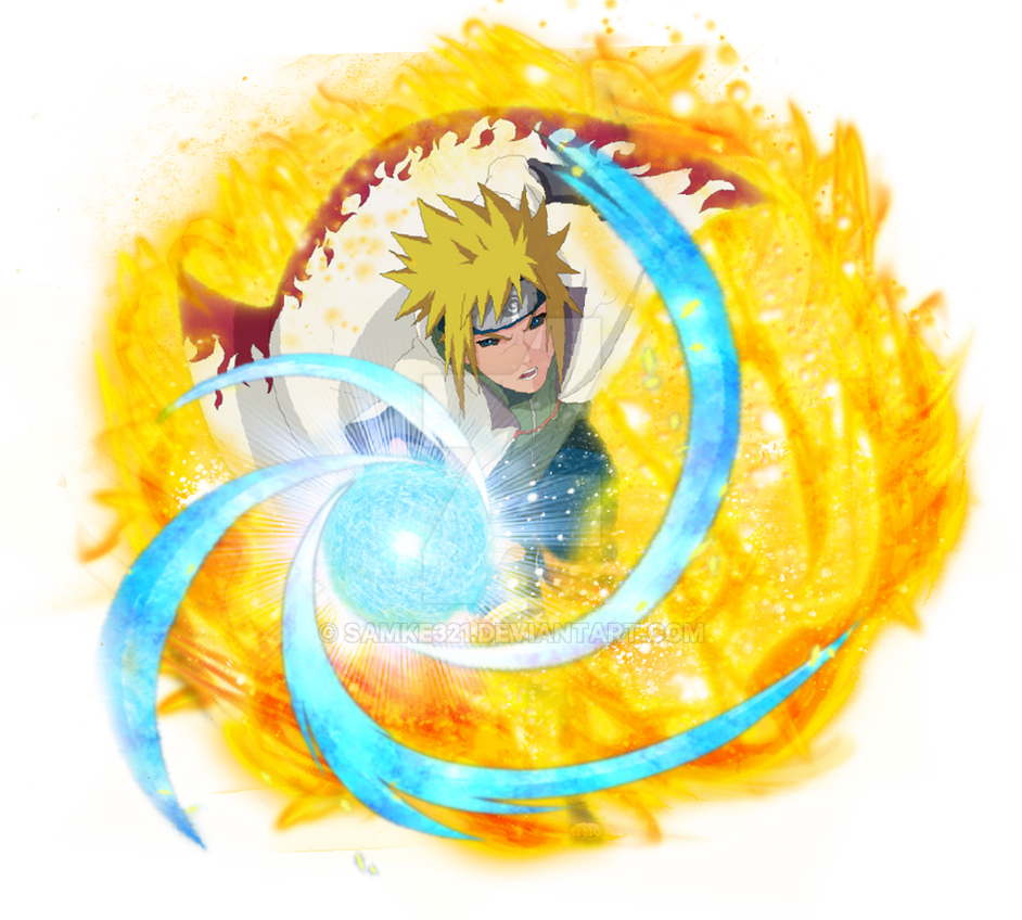 Edo Minato Namikaze-Naruto Blazing Fan Art by samke321