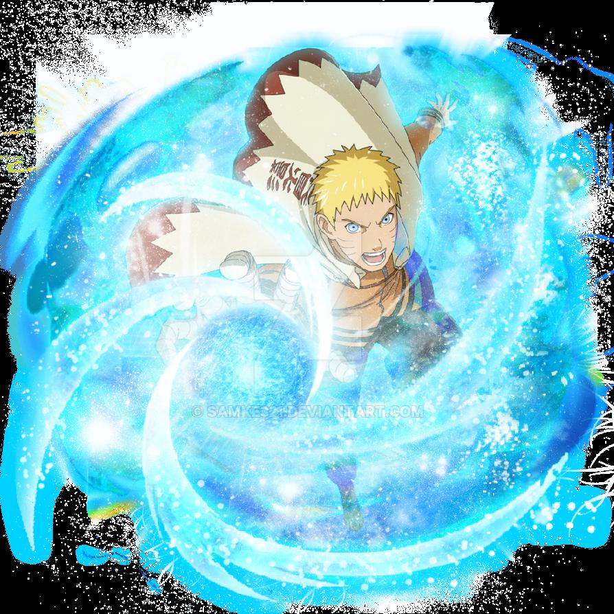 Naruto Blazing:Hokage Naruto-Fan Art(updated) by samke321