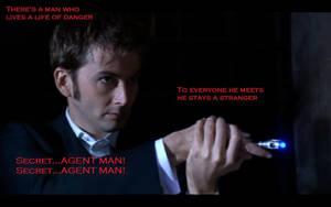 Doctor Who Secret Agent Man