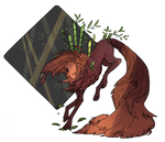 Through The Forest - Art Trade