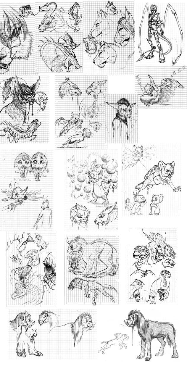 Sketchdump 02 by Archspirigvit