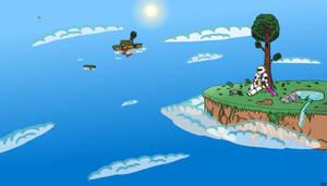 Terraria Wallpaper: Floating Islands