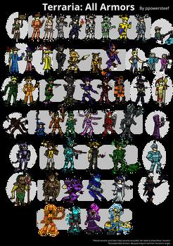 Terraria: All Armors 1.3
