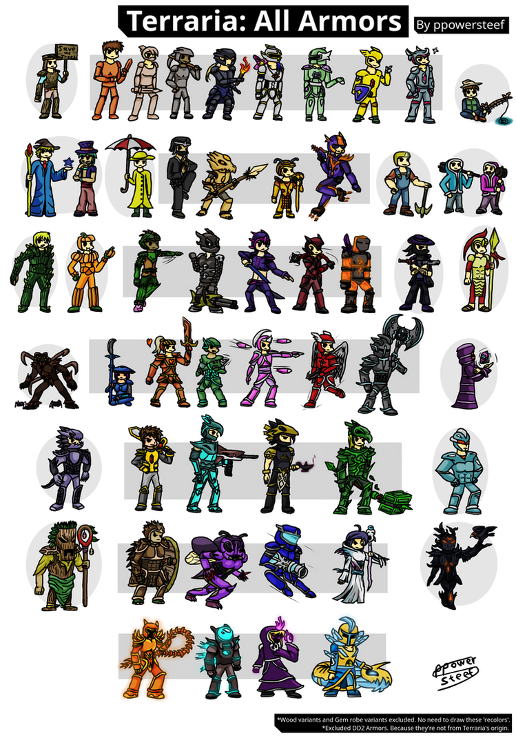 Terraria all armors 13 by ppowersteef on deviantart terraria all armors 13 by ppowersteef publicscrutiny Image collections