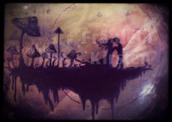 mushroom moon magic by fraeuleinkirsten