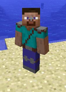 minecraft steve skin picture