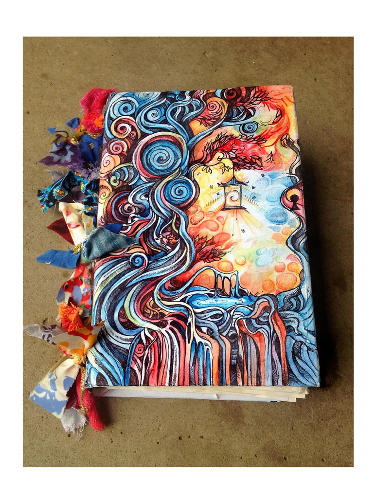 Diary Book Cover Design : Dream journal by paperanddust on deviantart