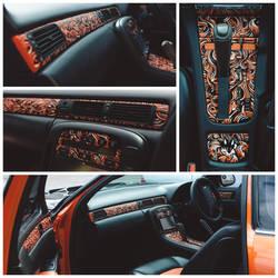 Fox Car interior by PaperandDust