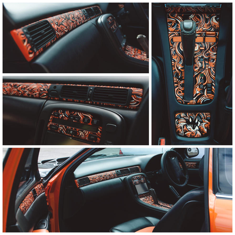 fox car interior by paperanddust on deviantart. Black Bedroom Furniture Sets. Home Design Ideas