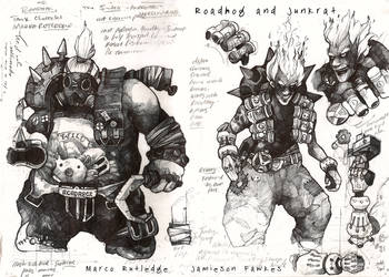 The Junkers by PaperandDust