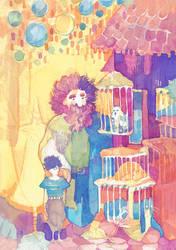Choosing Hedwig by PaperandDust