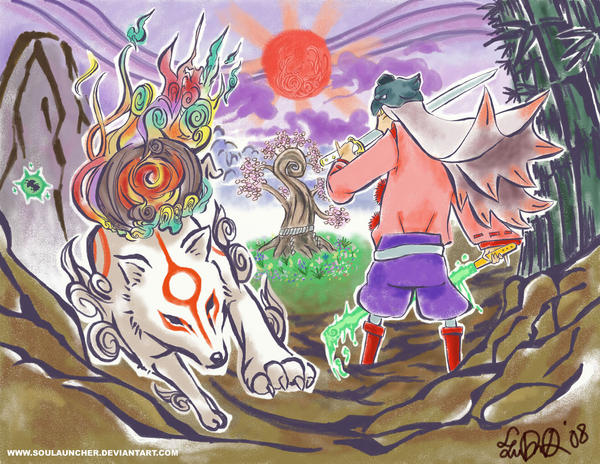 Okami by SOULAUNCHER