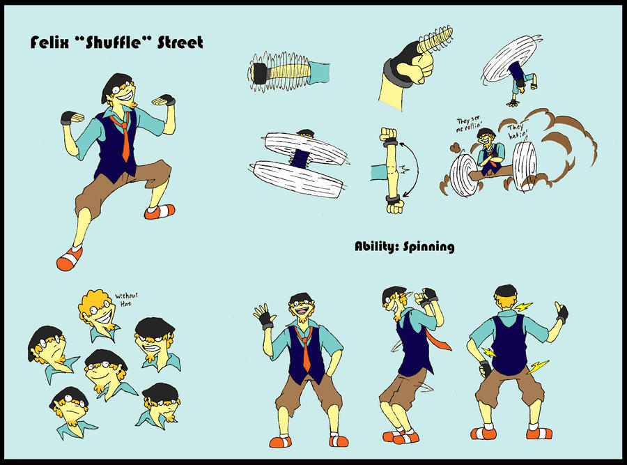Shuffle Ref Sheet - RC OCT by HowlingAnthem