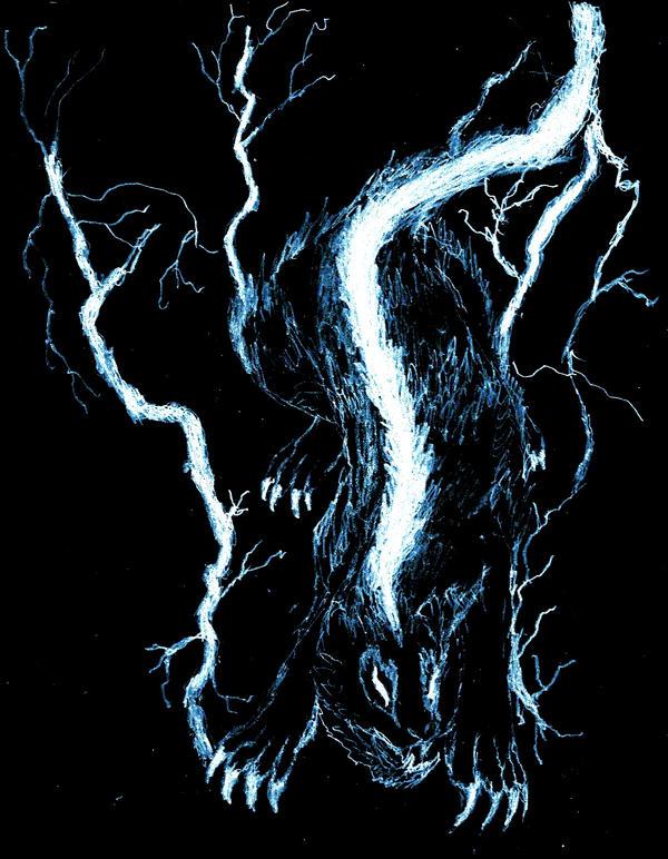 Raiju Of Lightning By Rhahsid On Deviantart Raijū (雷獣, raijū ) is a legendary creature from japanese mythology. raiju of lightning by rhahsid on deviantart