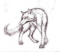 Slick wolf by Rhahsid