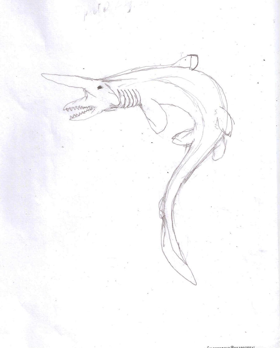 goblin shark coloring pages - photo#27