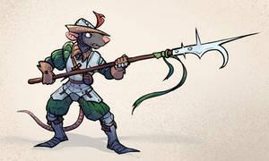 guisarme rat by Glumych