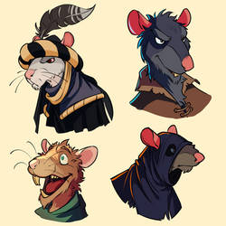 mouse heads by Glumych
