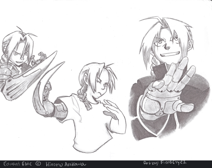 Edward Elric Sketches