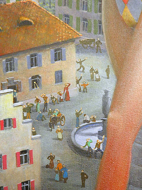 Detail from ABOVE THE TOWN by Marty4110