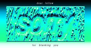 dear fellow sorry for blanking you