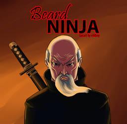 Beard Ninja FanArt by ehlboy
