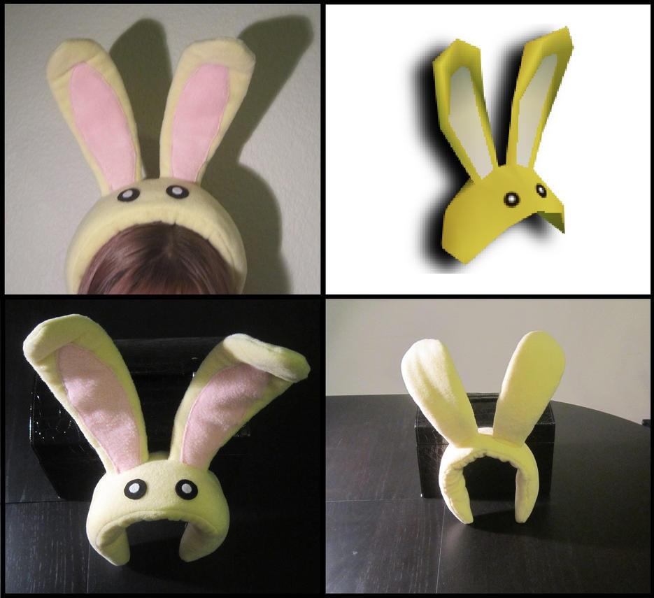 Bunny Hood by Miss-Zeldette
