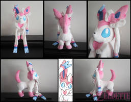 Sylveon Plushie by Maz-Zeldette