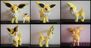 Jolteon Plush - Pokemon