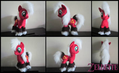 Epona plush - MLP style [FOR SALE]