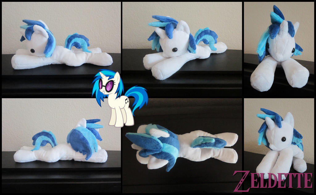 Vinyl Scratch Beanie Plush - MLP by Miss-Zeldette