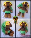 Deku Link Plush Final Version - Majora's Mask