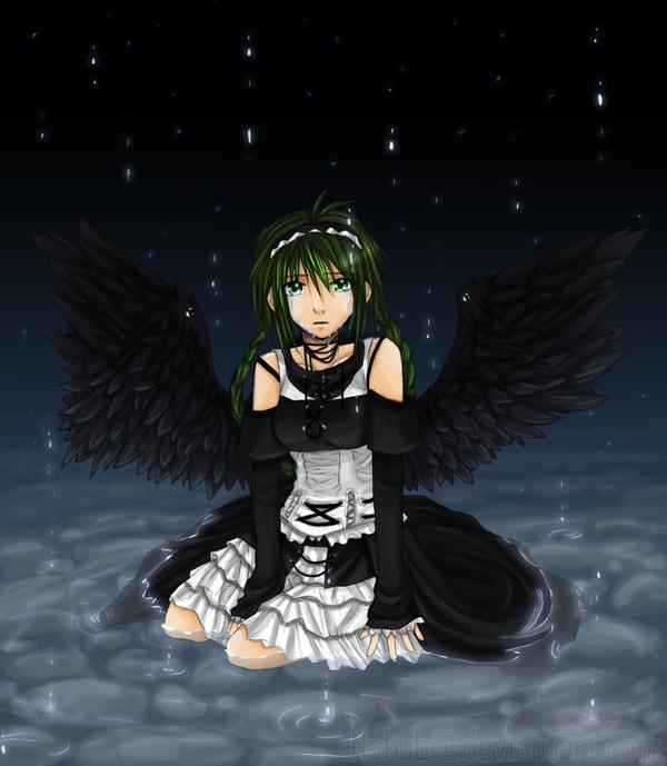 crying angel by Nakubi