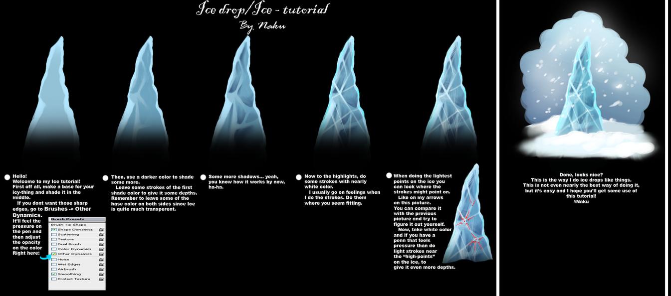 Ice tutorial by nakubi on deviantart ice tutorial by nakubi baditri Images