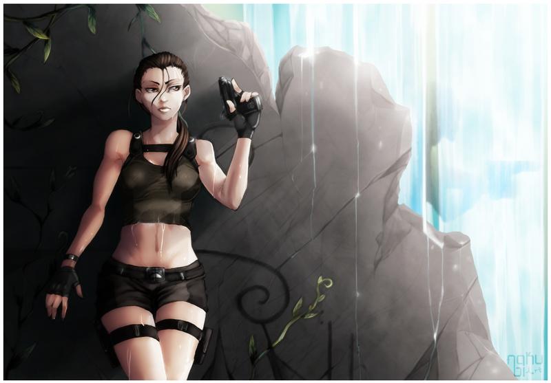 Lara Croft by Nakubi