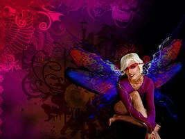 dragonfly goddess by stephalynnd