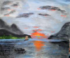 Towards the Sunset by joboscott