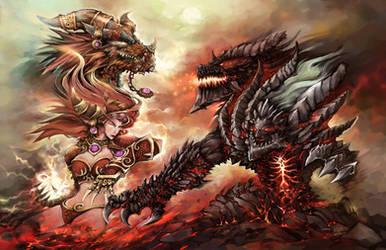 Dragon Wars by liuhao726