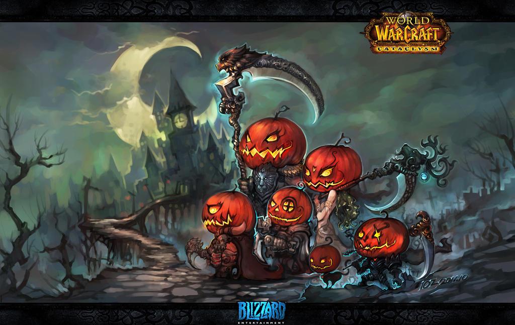 Halloween Hunt by liuhao726