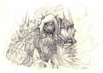 Werewolf priest by liuhao726